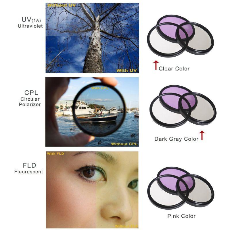 58mm Panasonic HC-W850 Pro Digital Lens Hood Flower Design + Stepping Ring 49-58mm Nwv Direct Microfiber Cleaning Cloth.