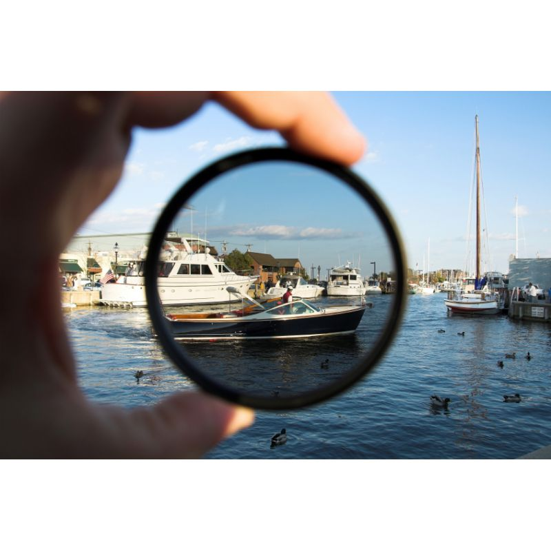 UV For Sony HDR-CX430V 1A Multicoated 46mm Haze Multithreaded Glass Filter