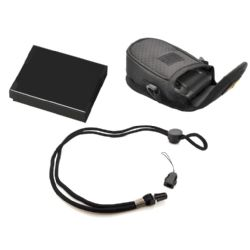 """""""STUFF I NEED"""" Package For Panasonic Lumix DMC-ZS25 Digital Camera  - Includes: DMW-BCG10 High Capacity Replacement Battery + Deluxe Padded Case + Neck Strap"""