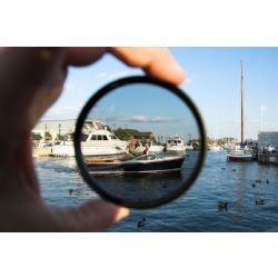 C-PL (Circular Polarizer) Multicoated   Multithreaded Glass Filter (52mm) For Canon EF-S 24mm f/2.8 STM