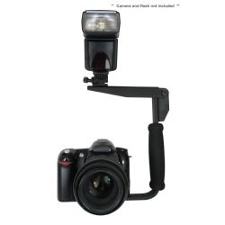 Flash Bracket (PivPo Pivoting Positioning) 180 Degrees (All Camera Mounts)