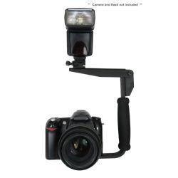 Flash Bracket (PivPo Pivoting Positioning) 180 Degrees (All Camera Mounts)