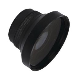 JVC Everio G GZ-MG670 0.16x High Grade Fish-Eye Lens (180° Diagonal Angle of View) + Stepping Ring (30.5mm-37mm) + Nw Direct Micro Fiber Cleaning Cloth