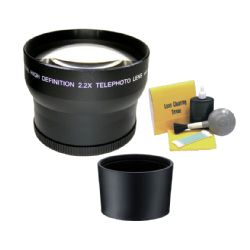 &nbsp Nikon Coolpix P7000 2.2 High Definition Super Telephoto Lens (Includes Necessary Lens Adapter) + Nw Direct 5 Piece Cleaning Kit