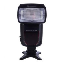VK750 II e-TTL, TTL II  Speedlite Flash with LCD Display for Canon Digital SLR Camera